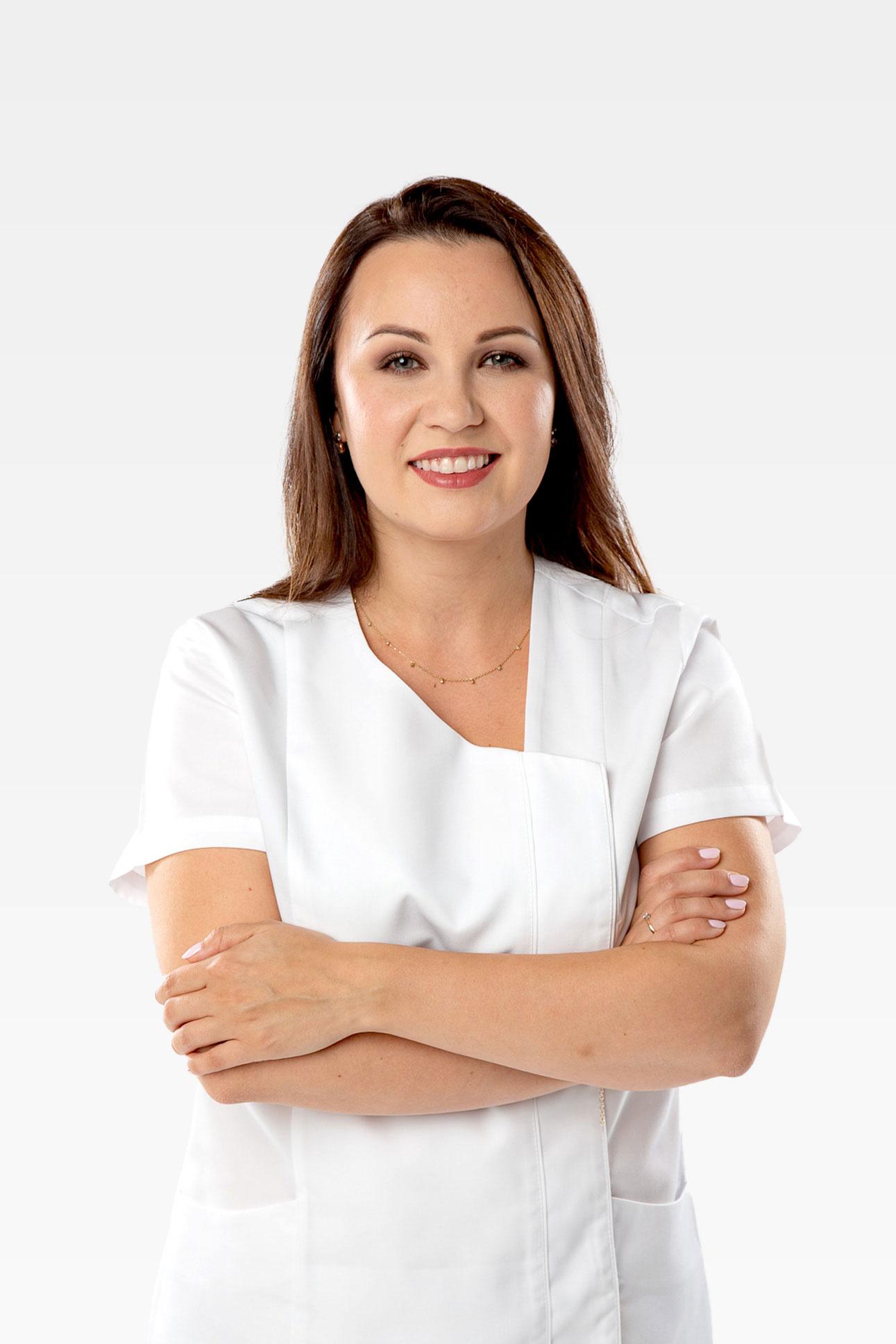 Justyna Zub Doctor of Dental Science Atelier Uśmiechu Warszaw Mokotów